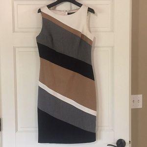 WHBM sleeveless sheath dress